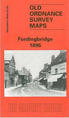Fordingbridge 1896: Hampshire Sheet 62.03 - Old O.S. Maps of Hampshire (Sheet map, folded)