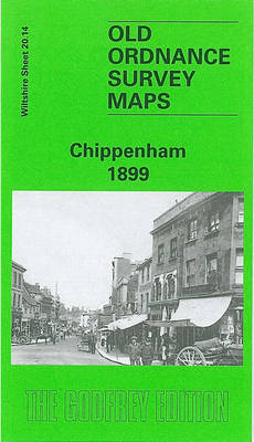 Chippenham 1899: Wiltshire Sheet 20.14 - Old O.S. Maps of Wiltshire (Sheet map, folded)
