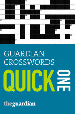 """Guardian"" Crosswords: One: Quick One (Paperback)"