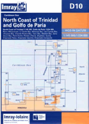Imray Iolaire Chart D10: North Coast of Trinidad - Caribbean Charts S. D10 (Sheet map, folded)