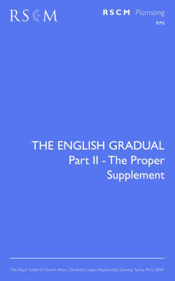 The English Gradual Supplement (Paperback)
