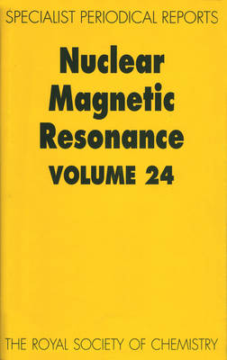 Nuclear Magnetic Resonance: A Review of Chemical Literature - Specialist Periodical Reports v. 24 (Hardback)