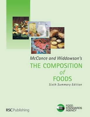 McCance and Widdowson's the Composition of Foods: Summary Edition (Paperback)