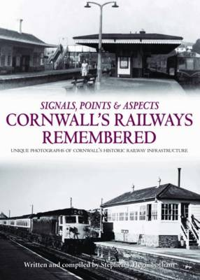 Cornwall's Railways Remembered (Hardback)
