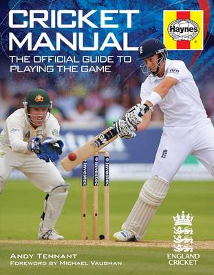 Cricket Manual: The Official Guide to Playing the Game - Haynes Manuals (Paperback)