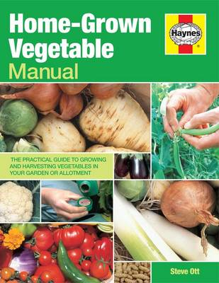 Home-grown Vegetable Manual: Growing and Harvesting Vegetables in Your Garden or Allotment - Haynes Manuals (Paperback)
