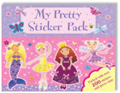 My Pretty Make-and-do Pack - Sticker Activity Wallet (Hardback)