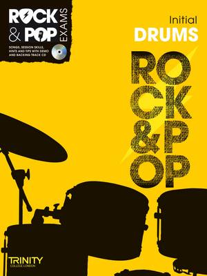 Trinity Rock & Pop Exams: Drums Initial Grade - Trinity Rock & Pop (Mixed media product)