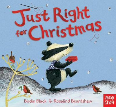Just Right for Christmas (Board book)