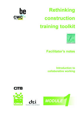 The Collaborative Working Training Pack: C576: Supply Chain Good Practice (Mixed media product)