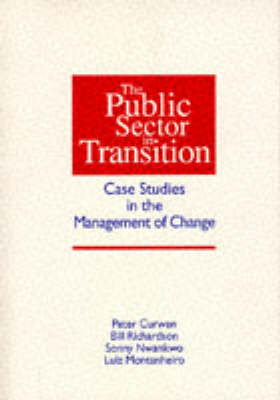 The Public Sector in Transition: Case Studies in the Management of Change - PAVIC publications (Paperback)