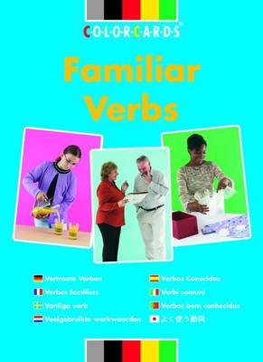 Familiar Verbs: In Context - Colorcards (Cards)