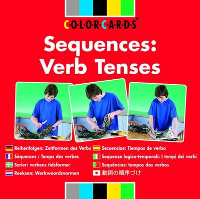 Sequences: Verb Tenses - Sequencing ColorCards (Cards)