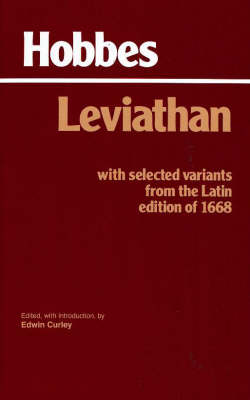 Leviathan: With Selected Variants from the Latin Edition of 1668: with Selected Variants from the Latin Edition of 1668 (Paperback)