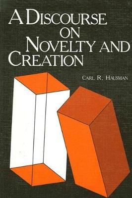 A Discourse on Novelty and Creation - SUNY Series in Philosophy (Paperback)