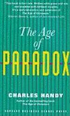 The Age of Paradox (Paperback)