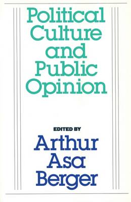 Political Culture and Public Opinion (Paperback)