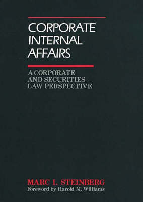 Corporate Internal Affairs (Hardback)