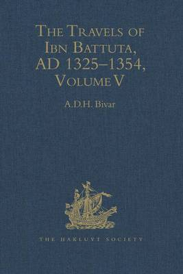 The Travels of Ibn Battuta: Index Volume 5 - Hakluyt Society Second No. 190 (Hardback)
