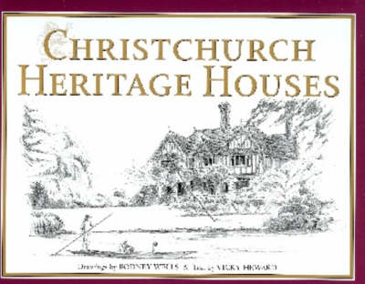 Christchurch Heritage Houses (Hardback)