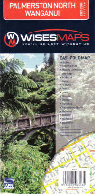 Palmerston / North Wanganu Easifold Map (Sheet map, folded)