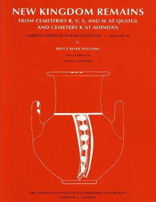 Excavations between Abu Simbel and the Sudan Frontier: Part 6: New Kingdom Remains from Cemeteries R, V, S, and W at Qustul and Cemetery K at Adindan (Hardback)