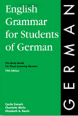 English Grammar for Students of German 4th EDN. (Paperback)