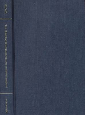 The Teaching of Grammar in Late Mediaeval England - Mediaeval Texts & Studies S. No. 6.  (Hardback)