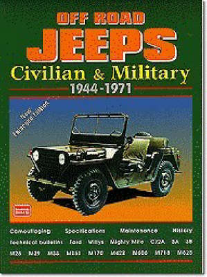 Off-road Jeeps: Civilian and Military, 1944-71 - Brooklands Books Road Tests Series (Paperback)
