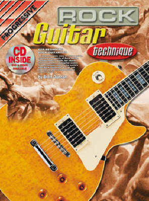 Progressive Rock Guitar Technique: CD Pack (Mixed media product)