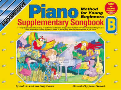 Progressive Piano for Young Beginners: Supplementary Songbook B / CD Pack (Mixed media product)