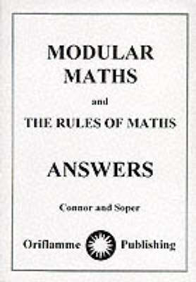 Modular Maths: Answers (Paperback)