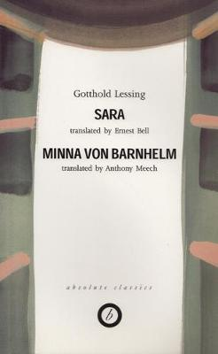 Lessing: Two Plays: Sara / Minna Von Barnhelm (Paperback)