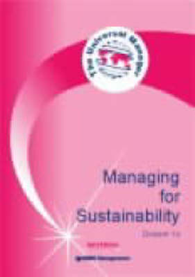 Managing for Sustainability - Universal Manager S. Dossier 15 (Paperback)