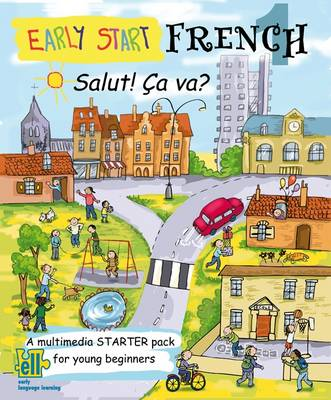 Early Start French Starter Pack, Salut Ca Va?: Pack 1: A Multimedia Starter Pack for Young Beginners (Mixed media product)