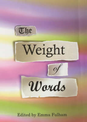 The Weight of Words (Paperback)