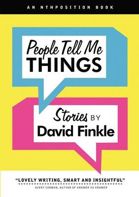 People Tell Me Things (Paperback)