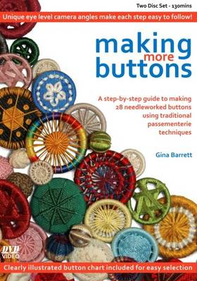 Making More Buttons - Making Passementerie No. 2 (DVD)