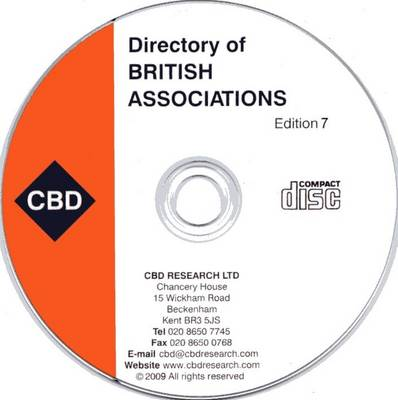 Directory of British Associations: And Associations in Ireland (CD-ROM)