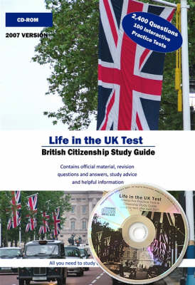 Life in the UK Test 2,400 Questions on CD-ROM: British Citizenship Study Material and Practice Tests (CD-ROM)
