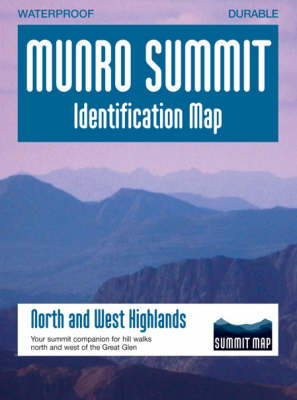 Munro Summit Identification Maps: North and West Highlands (Sheet map)