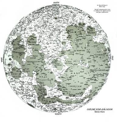 Map of the Moon: Special Commemorative Issue (Sheet map)