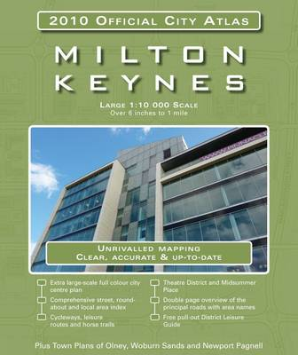Milton Keynes: 2010 Official City Atlas (Paperback)