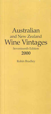 Australian and New Zealand Wine Vintages (Paperback)