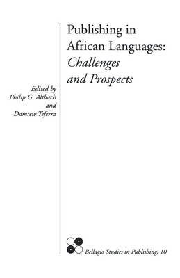 Publishing in African Languages: Challenges and Prospects (Paperback)