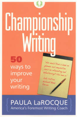 Championship Writing: 50 Ways to Improve Your Writing (Mixed media product)