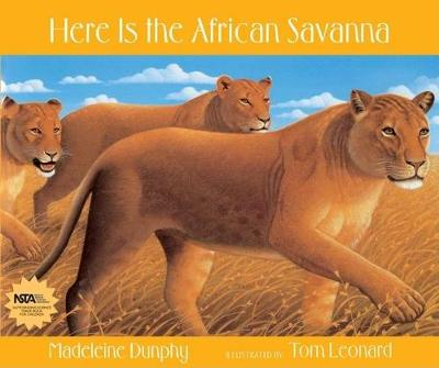 Here Is the African Savanna (Paperback)