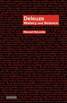 Deleuze: History and Science - Think Media Egs Media Philosophy Serie (Paperback)