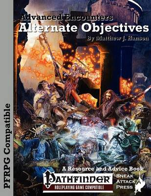 Advanced Encounters: Alternate Objectives (Pfrpg) (Paperback)