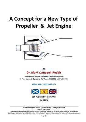Cover A Concept for a New Type of Propeller & Jet Engine